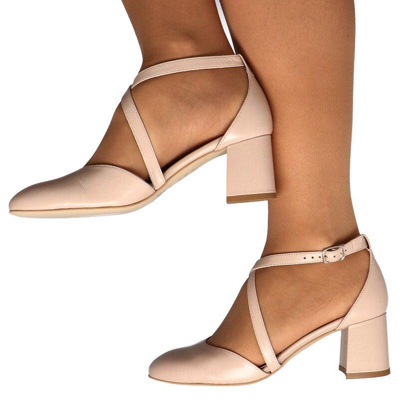 buty damskie na wesele mały obcas