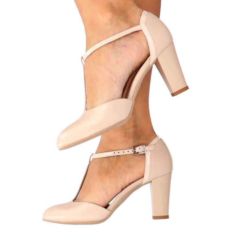 061502e1 ... Buty damskie doskonałe do tańca, skóra naturalna Kliknij, aby  powiększyć ...