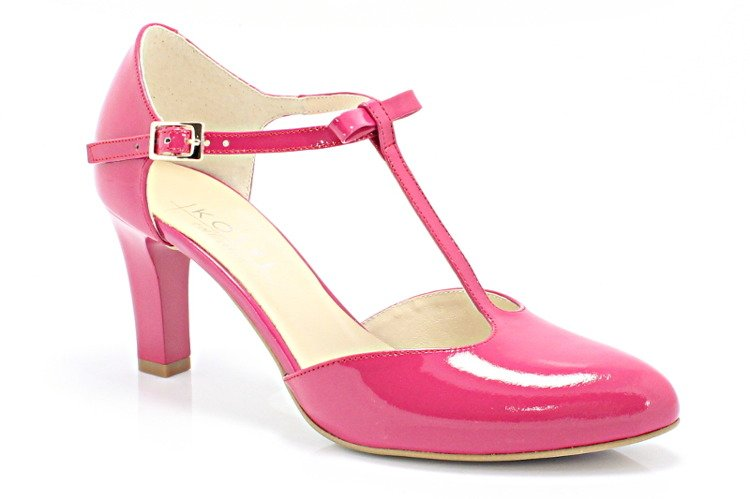636c6332cefa7 KOTYL 889 FUKSJA - Piękne buty taneczne ze skóry BUTY DAMSKIE ...