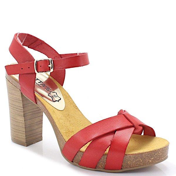 a0d2d45916c7b MARIETTAS 71040 CZERWONE - Hiszpańskie buty Kliknij, aby powiększyć ...