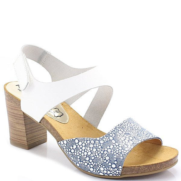 d3daaa9994c40 MARIETTAS 7310 BIAŁE BŁĘKIT - Hiszpańskie buty BUTY DAMSKIE SANDAŁY ...
