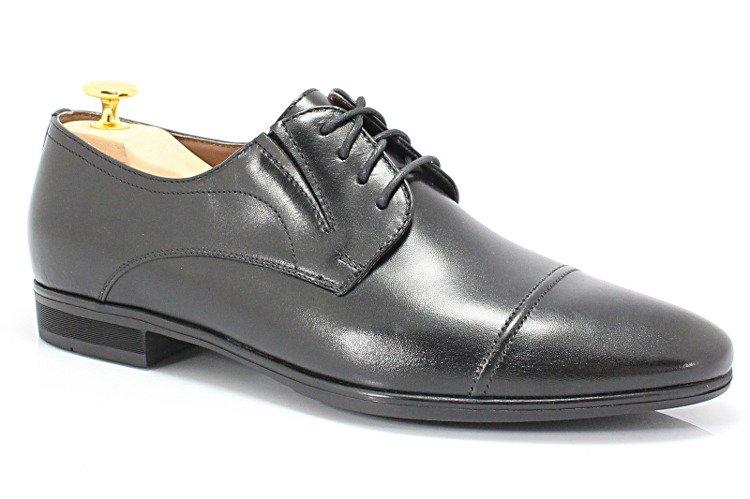 be13c67312883 NORD 8403 CZARNE - Klasyczne buty wizytowe BUTY MĘSKIE WIZYTOWE ...