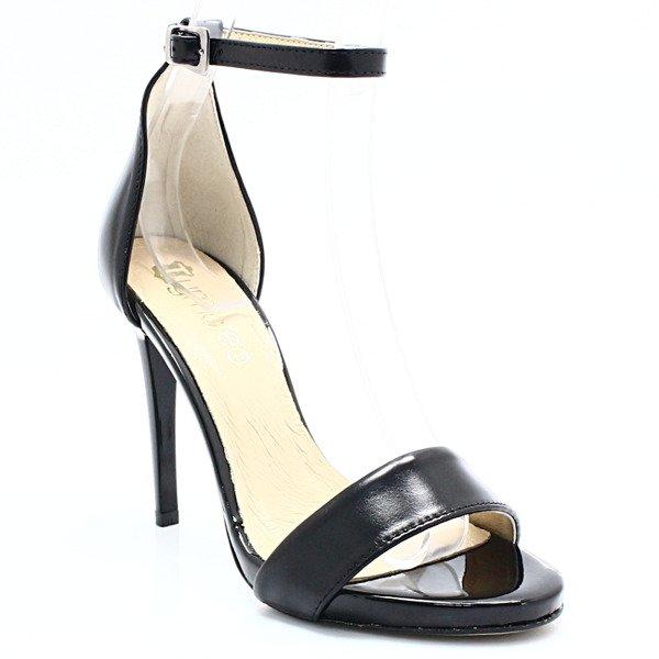 1cb939ca TYMOTEO 2613 CZARNE - Eleganckie sandały, skóra Kliknij, aby powiększyć ...