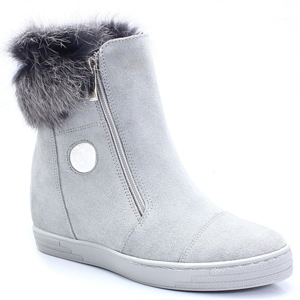 buty damskie na koturnie jesień zima